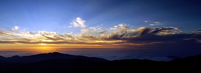 Sunset over Paranal