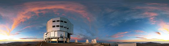 Nightfall at Paranal