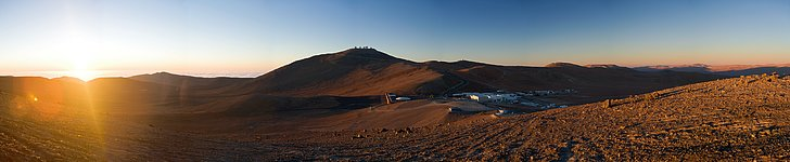 Sunset over Paranal *