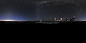 Panoramic view of VLT