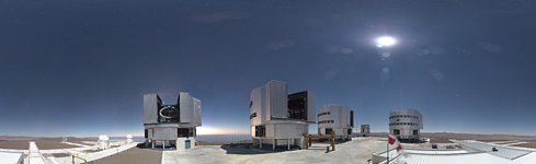 Paranal's panoramic webcam