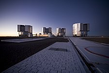 Paranal Platform After Sunset*