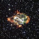Dying Star Puffs a Cosmic Dragon