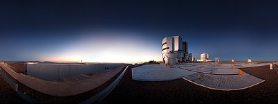 Very Large Telescope Ready for Action