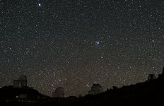Two Planet-hunters Snapped at La Silla