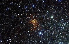 Surprise Cloud Around Vast Star
