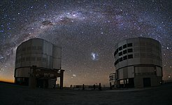 An Emu in the Sky over Paranal