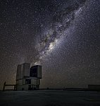 Yepun and the Milky Way