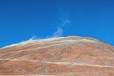 Dust rising off Cerro Armazones