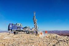 Drilling on Cerro Armazones