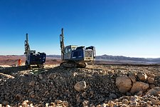 Drilling on Cerro Armazones