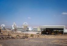 ALMA antennas eager to reach the Chajnantor plateau