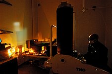 High Power Laser test of VLT 4LGSF Laser Launch Telecope
