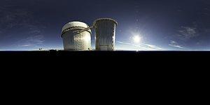 Daytime Perspective of La Silla