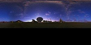 Panorama view of ALMA