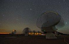 Dancing telescopes