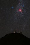 Cosmic Fire Above Paranal