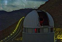 Stars rain down at La Silla