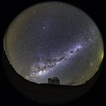 3.6m Telescope Fish-eye View