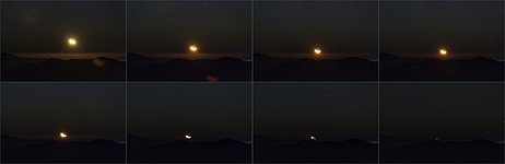 Atacama Moonset