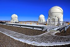 Auxiliary Telescopes on Paranal platform