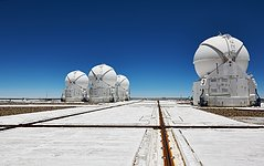 The VLT Auxiliary Telescopes on their mountain perch