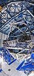Inside the dormant telescope's lair