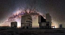 A cosmic backdrop