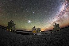 Large and small over Paranal