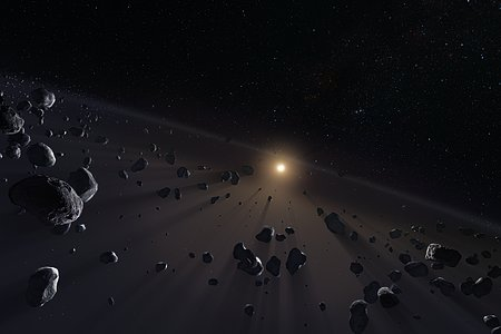 Kuiper Belt's ice cores