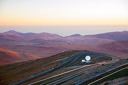 Communications Antenna at Paranal