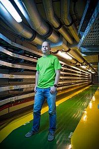 ESO Paranal astronomer Steffen Mieske