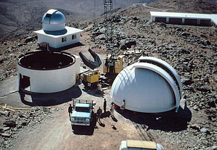ESO 1-metre telescope dome
