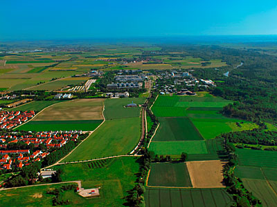 Garching seen from above
