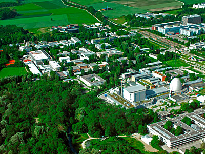Garching Science Campus seen from above