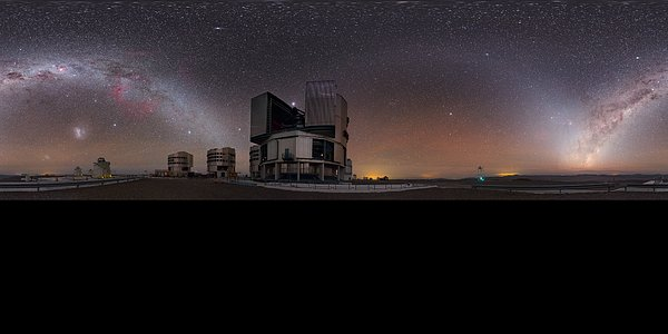 Night Sky Gems over the Very Large Telescope
