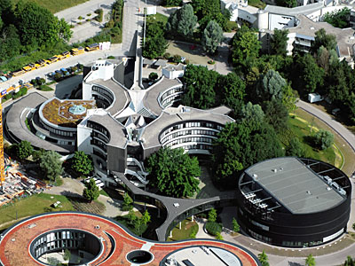 Aerial View of ESO Headquarters