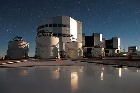 Group portrait at Paranal