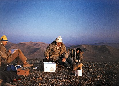 Site testing atop Cerro Armazones