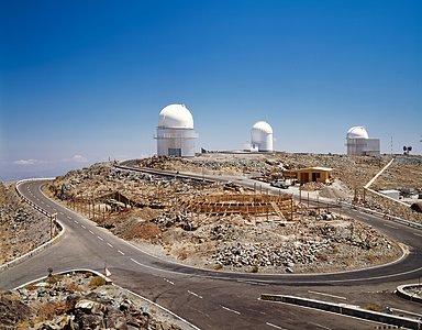 MPG/ESO 2.2-metre telescope work-in-progress