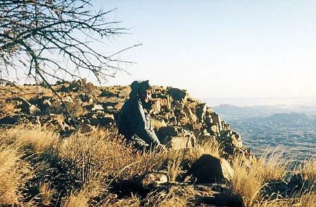 Navarette site testing in Namibia