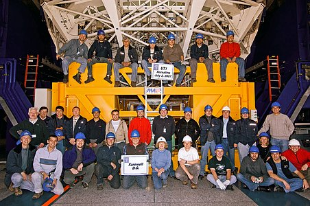 Recoating team of the VLT