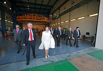 The President of the Czech Republic at the MMB