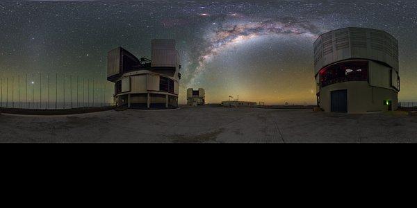 Milky Way between UTs