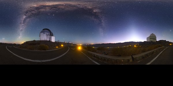 Dawn at La Silla