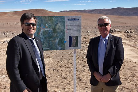 Paranal–Armazones connected to Chilean power grid