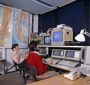 MPG/ESO 2.2-metre telescope control room