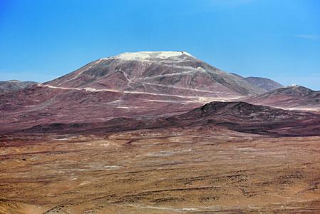 Dusty mountain