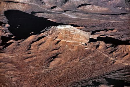 Cerro Armazones casts a long shadow