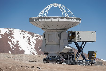 ALMA antenna maintenance